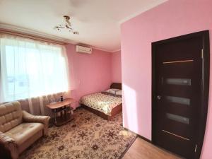 Кровать или кровати в номере Hotel Dio Lakrua