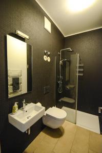A bathroom at Penthouse im Herzen Stuttgarts