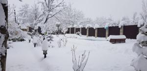 Gabala Vendam Villa durante o inverno