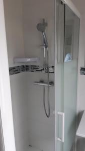 Salle de bains dans l'établissement Art Hotel Tendance