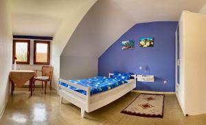Ein Bett oder Betten in einem Zimmer der Unterkunft Landhaus Vieth