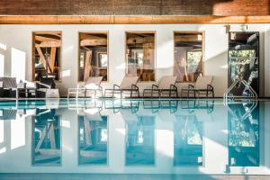 The swimming pool at or near Hotel Waldsee