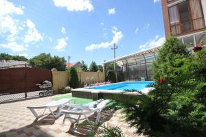 The swimming pool at or near Hotel Liza on Solnechnaya 17