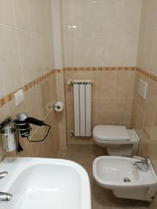 A bathroom at bariairport