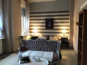A bed or beds in a room at Villa Constanza