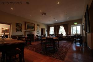 A restaurant or other place to eat at The Derby Arms