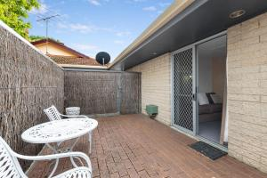 A balcony or terrace at The Henty