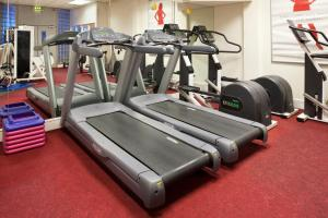 The fitness center and/or fitness facilities at Holiday Inn Bolton Centre