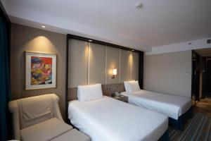 マルコ ポーロ プラザ セブにあるベッド