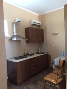 Кухня или мини-кухня в Апартаменты в Ессентуках