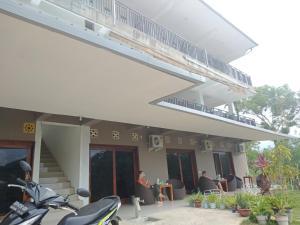 Het gebouw waarin het pension zich bevindt