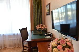 Телевизор и/или развлекательный центр в Гостиница Даниловская