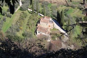 Vista aerea di Villa Porsenna