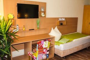 TV/Unterhaltungsangebot in der Unterkunft Hotel Seerose Bostalsee