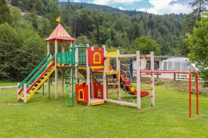Children's play area at Tsarynka Eco Complex