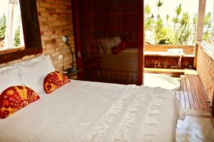 A bed or beds in a room at Villa La Dolce Vita