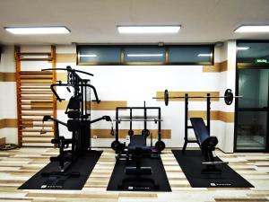 Gimnasio o instalaciones de fitness de Complejo Turístico Los Escullos San Jose