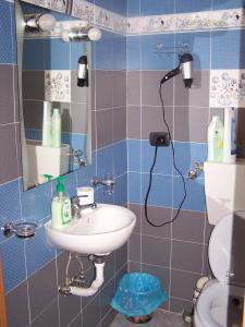 A bathroom at Affittacamere Buenos Ayres
