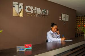 Preddverje oz. recepcija v nastanitvi Hotel Chimu