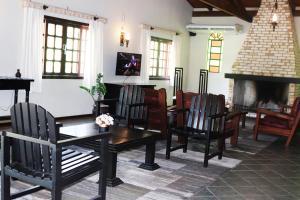The lobby or reception area at Hotel do Santuário
