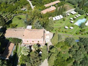 A bird's-eye view of Monaci delle Terre Nere