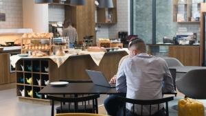 A restaurant or other place to eat at Staybridge Suites London-Vauxhall