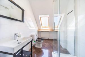 Łazienka w obiekcie Apartamenty Prima