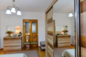A bathroom at Apartment on Rustaveli Avenue