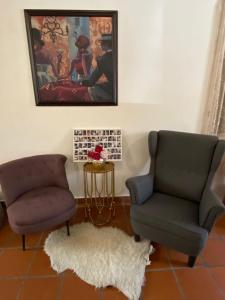 A seating area at D'Nice Heritage House