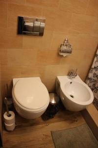 Ein Badezimmer in der Unterkunft Historic Royal Apartment