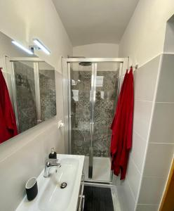 A bathroom at Pisani Apartment