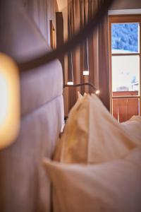 Ein Sitzbereich in der Unterkunft Bauernhof Hotel Oberschwarzach