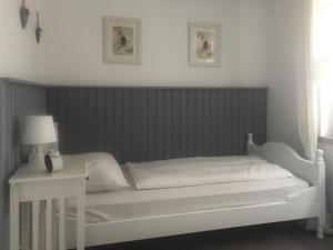 Ein Bett oder Betten in einem Zimmer der Unterkunft Baumann´s Hof