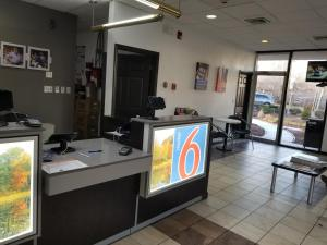The lobby or reception area at Motel 6-Lawrenceville, NJ