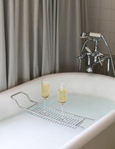 A bathroom at Hôtel De Sers Champs Elysées Paris