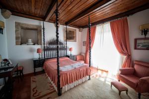 Uma cama ou camas num quarto em Casa da Lage