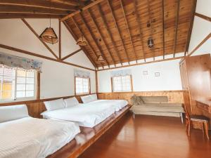 A bed or beds in a room at Euro Country Villa