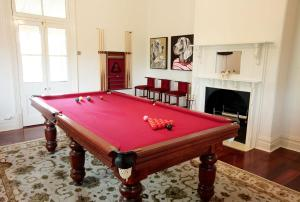 A pool table at Laurelville