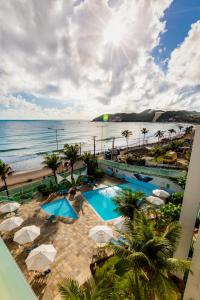 A view of the pool at Hotel Ponta Negra Beach Natal or nearby