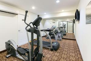 The fitness center and/or fitness facilities at Super 8 by Wyndham Decatur/Dntn/Atlanta Area
