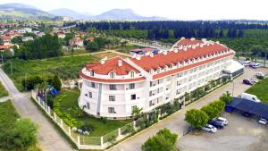 A bird's-eye view of Dalaman Airport Lykia Resort Hotel