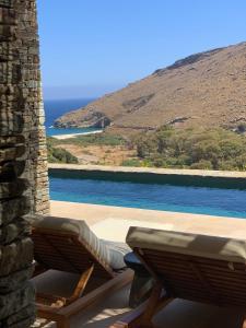 Πισίνα στο ή κοντά στο Onar Andros