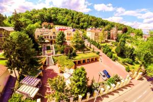 Letecký snímek ubytování Parkhotel Brno