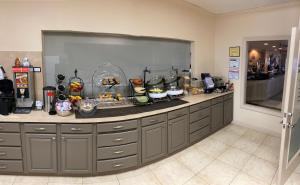 A kitchen or kitchenette at Northfield Inn Suites and Conference Center