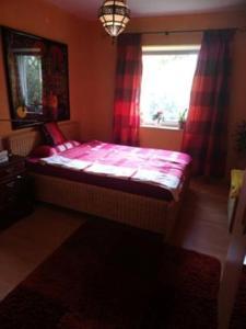 Ein Bett oder Betten in einem Zimmer der Unterkunft Messewohnung Nähe Düsseldorf