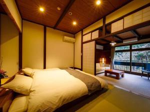 白壁荘にあるベッド