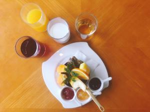 Breakfast options available to guests at Bellevue Garden Hotel Kansai Airport
