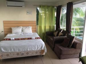 A bed or beds in a room at Vistas de San Blas