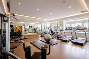 The fitness center and/or fitness facilities at Stamford Plaza Brisbane