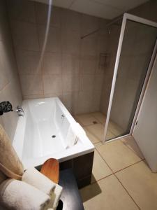 A bathroom at Zanchieta Guest & Wild Cat Rescue Farm